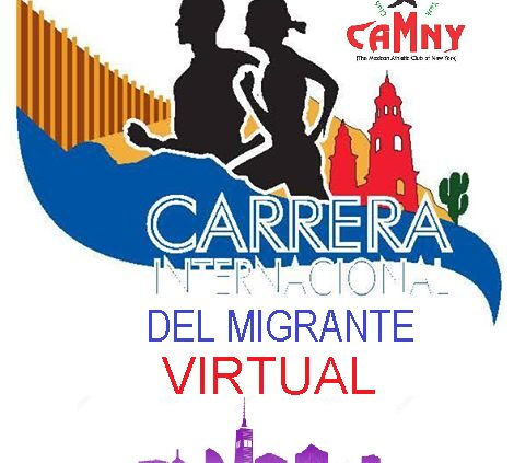 "CARRERA 5K VIRTUAL"" CAMNY"" New York"
