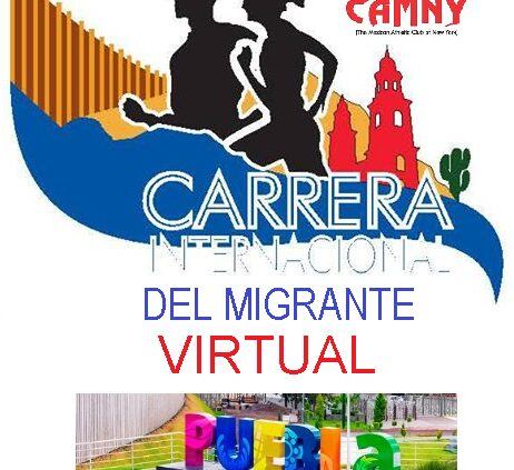 "CARRERA 5K VIRTUAL"" CAMNY"" Puebla"