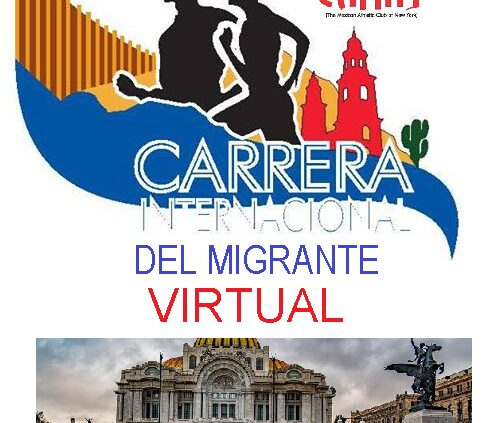 "CARRERA 5K VIRTUAL"" CAMNY"" México"