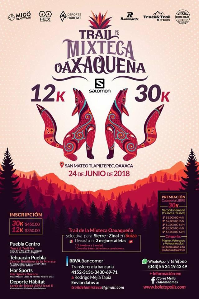 CARRERA MIXTECA OAXACA