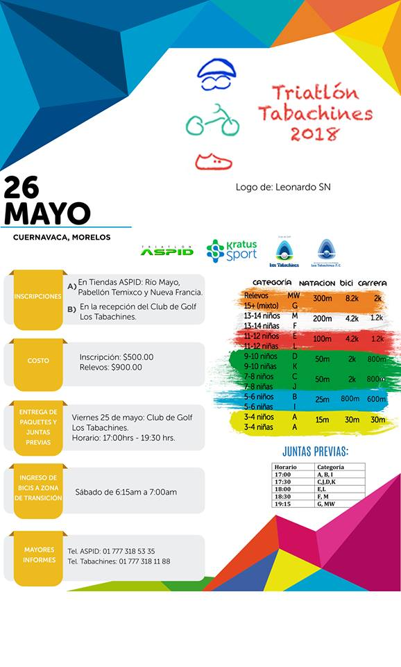TRIATLON TABACHINES 18-1